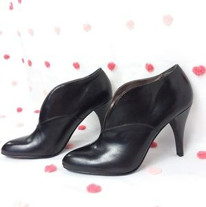 Calvin Klein Booties Jazz Boot Faux Leather NWOT